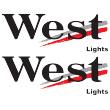 West Lights Decal